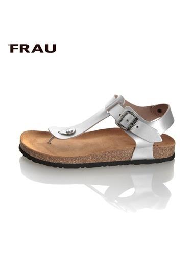 Frau Sandalet Gümüş
